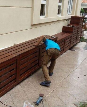防腐木施工